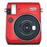 Fujifilm Instax Mini 70 - Instant Film Camera (Red)