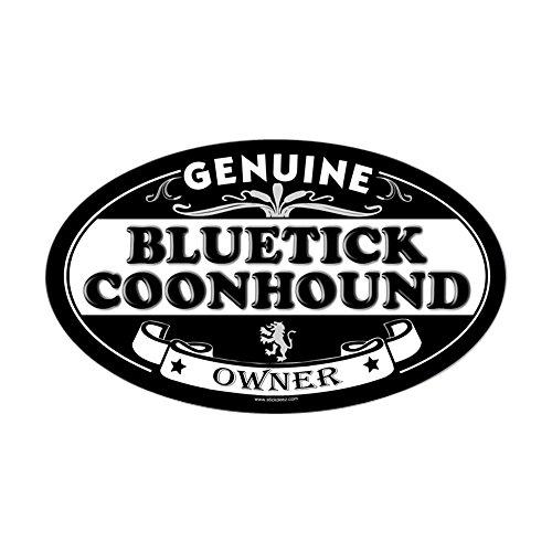 CafePress Bluetick Coonhound Oval Sticker Oval Bumper Sticker, Euro Oval Car Decal