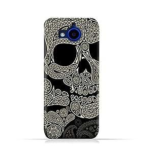 AMC Design HTC Desire 650 Dual Sim TPU Silicone Protective case with Skull & Piesley Design