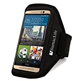 SumacLife adjustable sports armband is a smart, versatile solution for people on the go, which provides you the versatility of carrying your devices in a variety of ways. You can run, ride, lift and more without missing a second of your favor...