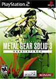 Metal Gear Solid 3: Subsistence (PS2)