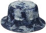 True Religion Men's Bleach Dye Denim Bucket Hat