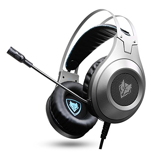 jeecoo xbox one ps4 headset over ear bass gaming. Black Bedroom Furniture Sets. Home Design Ideas