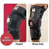 exP Heavy Duty Knee Supports - Hinged, XXLarge, Knee Circ: 18''-20''