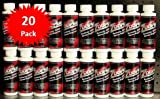 ZDDPPlus ZDDP Engine Oil Additive Zinc & Phosphorus 20 Bottle Pkg