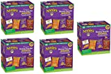Annies Organic Variety Pack, Cheddar Bunnies and Bunny Graham Crackers Snack Packs, 36 Pouches, 1 oz Each huyARl, 5 Pack