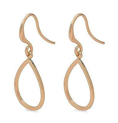 Top Design am billigsten große sorten 611834053 Roxy Ohrring Hänger rosegold Schlaufe Pilgrim ...
