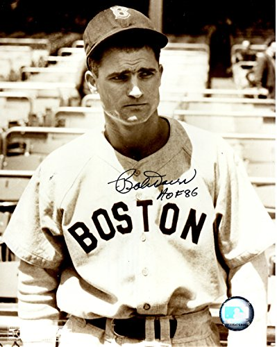 Autographed Bobby Doerr 8x10 Boston Red Sox Photo
