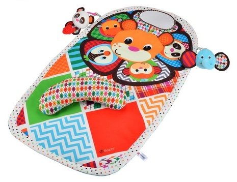 Cereal And Milk Costume - Peek and Play Tummy Time Activity Mat