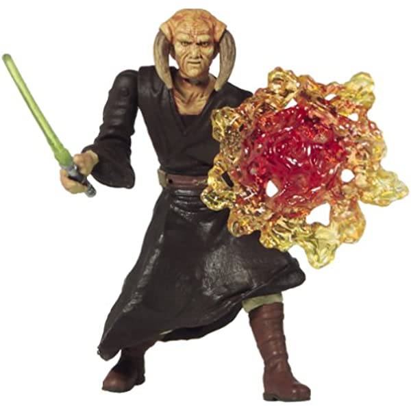 Hasbro Star Wars Attack Of The Clones Red Blast Effect Accessory Used