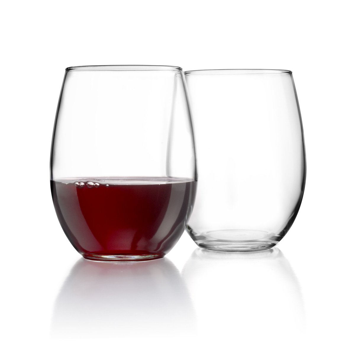 Luminarc Perfection Stemless Wine Glass (Set of 12), 15 oz, Clear N0056