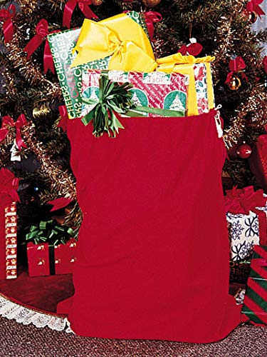 (Rubie's Velour Santa Bag, Red, One Size)