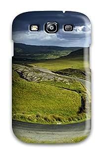 Hot Design Premium LnxzVej5625vmJhv Tpu Case Cover Galaxy S3 Protection Case(scenic Earth Road Nature Scenic)