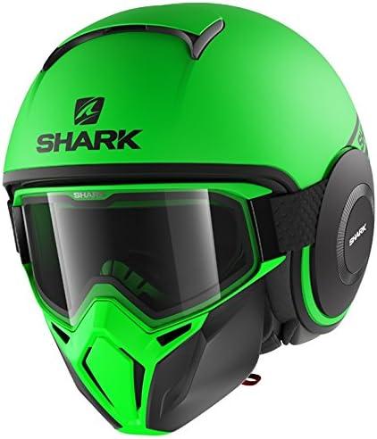 Shark Casque moto STREET DRAK NEON SERIE MAT AKK L Anthracite