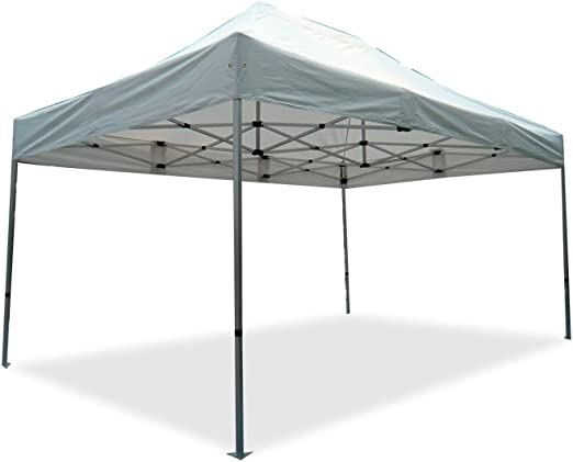 INTEROUGE Carpa Plegable 3 x 4, 5 m Aluminio Tubo de Tamaño Dia.40mm 100% a Prueba de Agua Pop Up Carpa Pérgola Pabellón Toldo Plegable para Evento: Amazon.es: Jardín