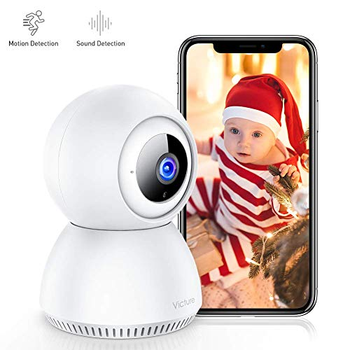 Great Deal! Victure 1080P Home Security Camera Wireless Indoor Surveillance Camera Smart 2.4G WiFi I...