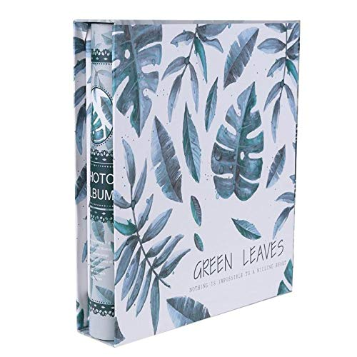 HUI YIJIYI 200 Pages Photo Album Scrapbook Paper Baby Family Large 6 Inch Loose-Leaf Albums Wedding Foto - Album T-shirt White