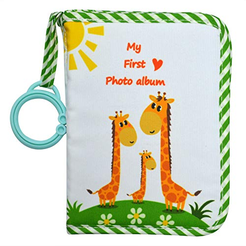 [해외]Baby`s My First Family AlbumSoft Cloth Photo BookBaby Cloth Album (Green) / Baby`s My First Family Album,Soft Cloth Photo Book,Baby Cloth Album (Green)