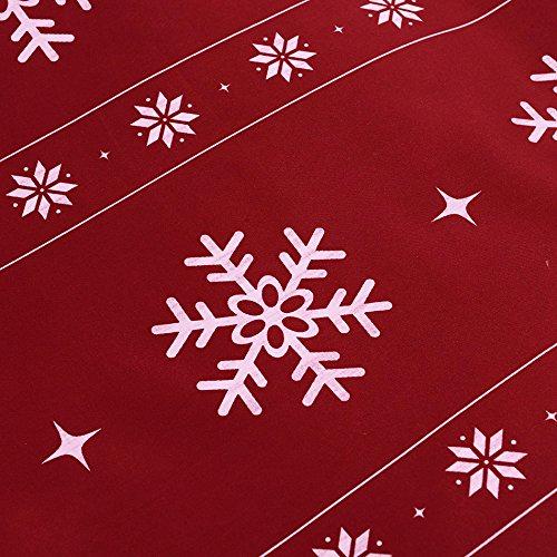 Vaulia Lightweight Microfiber Duvet Cover Set Snowflake