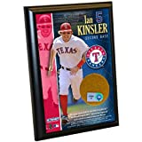 MLB Texas Rangers Ian Kinsler 4-by-6-Inch Dirt Plaque