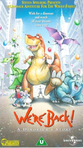 WERE BACK A DINOSAURS STORY EBOOK