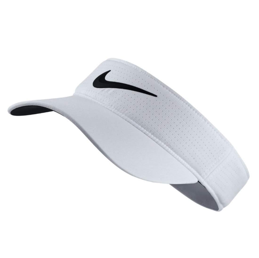 Nike Golf Women's Tech Adjustable Visor - White/Black by Nike