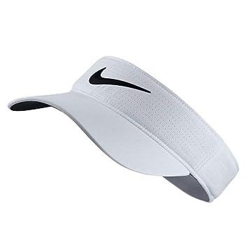 Nike Tech Visor 2017 Gorra de Golf, Mujer, Blanco, Talla Única: Amazon.es: Zapatos y complementos