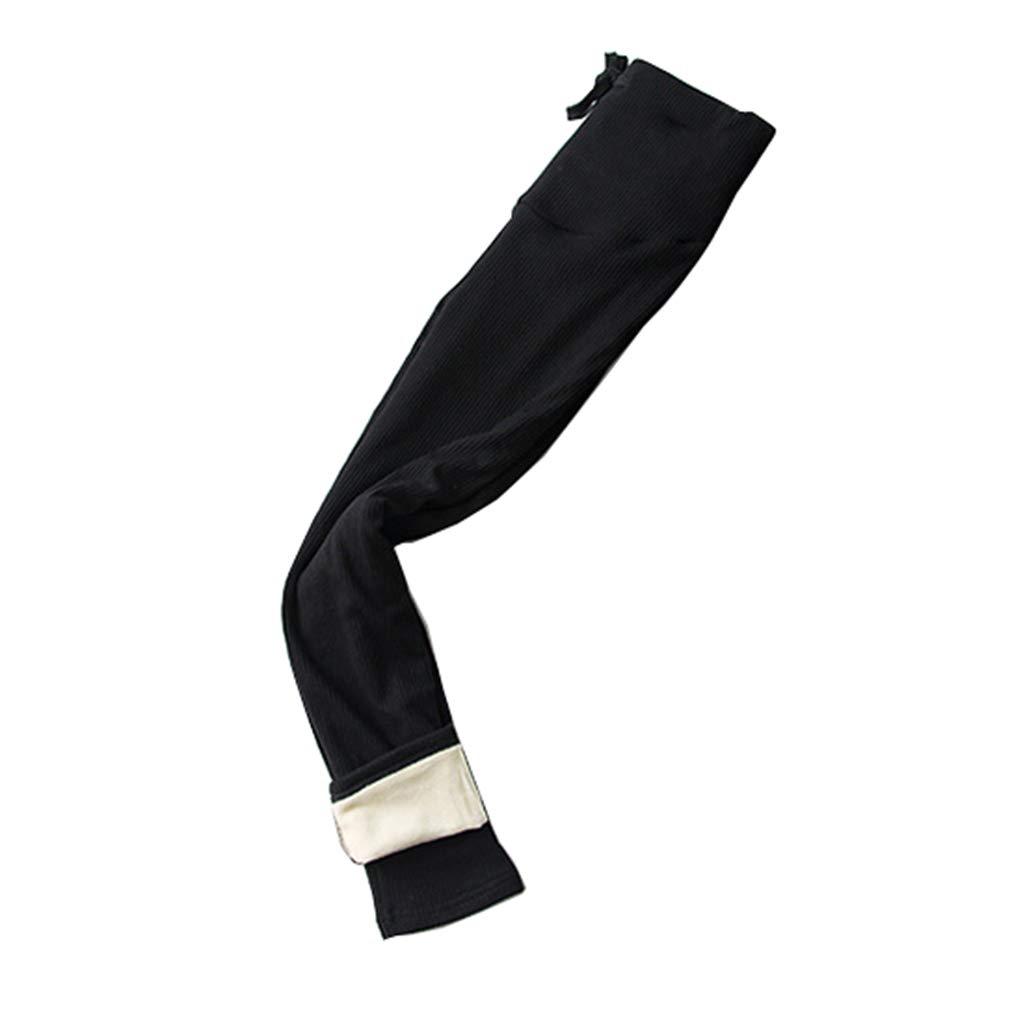 mama stadt Pantalones de Terciopelo Leggings Elasticos Mujer Pantalones Premama Legging Banda par/á Barriga Leggins Embarazada Maternidad