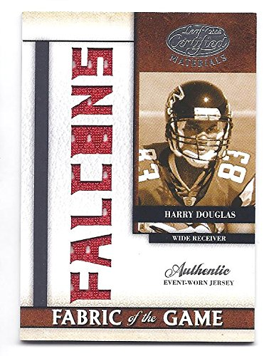 HARRY DOUGLAS 2008 Leaf Certified Materials Fabric of the Game #2 Team Die-Cut Parallel JERSEY Rookie Card RC #02 of only 25 Made! Tennessee Titans Football ()
