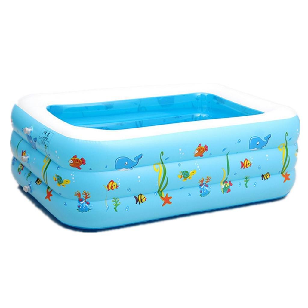 Baño inflable,Air pool piscina infantil inflable de la piscina inflable protección ambiental burbuja Pvc fondo piscina niños , 150