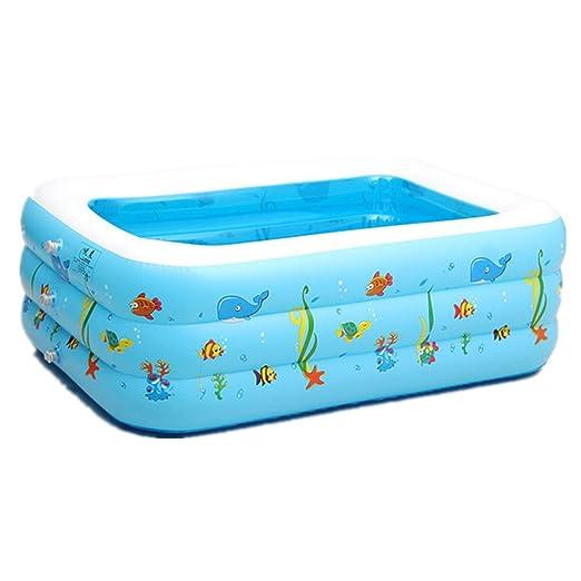 gzd Niños bebé piscina hinchable Piscina hinchable Protección del ...