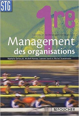 Management des organisations 1e STG pdf