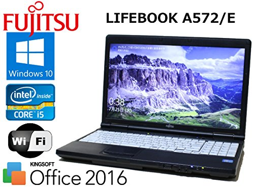 【福袋セール】 テンキー 最新Windows10 無線LAN 富士通 LIFEBOOK A572 4GB/E 最新Windows10 Core i5 B0748LJKM8 3320M 4GB HDD320GB DVDマルチ Office2016 B0748LJKM8, バレエ ピィーカブ*スカーレット:17cbf74f --- arianechie.dominiotemporario.com