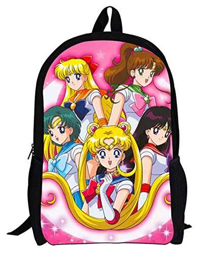 Price comparison product image YOYOSHome Anime Sailor Moon Cosplay Backpack School Bag