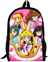 YOYOSHome Anime Sailor Moon Cosplay Backpack School Bag