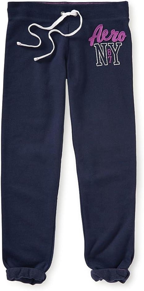 Aeropostale Womens Heritage Cinch Athletic Sweatpants