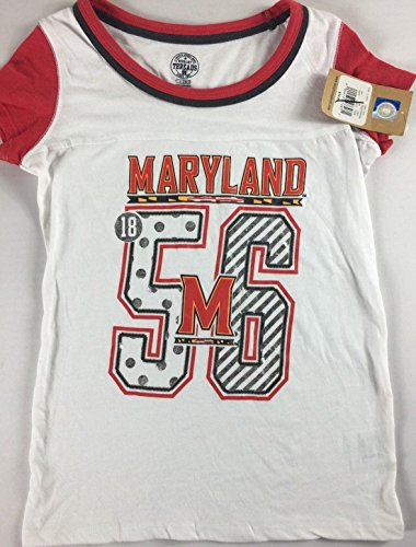 Rivalry Threads Maryland Terrapins Shirt Girls Large 10/12 Soft Alumni Student Grad Terps Turtle by Rivalry Threads