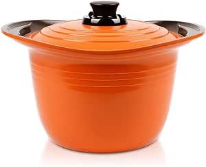 Roichen Premium Pot High Casserole, 8L, Orange