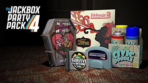 The Jackbox Party Pack 4 - Nintendo Switch [Digital Code]