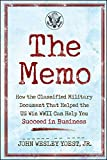 champion hill - The Memo: How the Classified Military Document That Helped the U.S. Win WWII Can Help You Succeed in Business