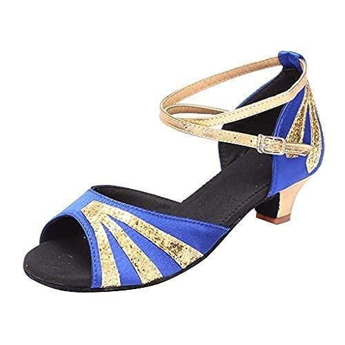 Chaussures Danse Ballerines Femmes Adultes lin De Respirant Day jqRL35A4