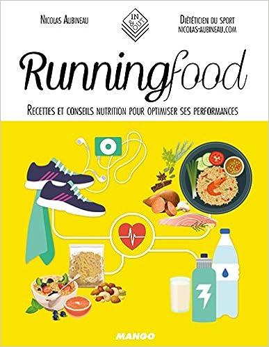 Running food - Nicolas Aubineau sur Bookys