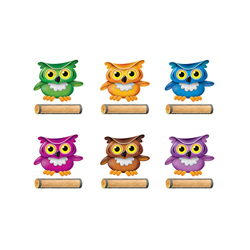 TREND enterprises, Inc. Bright Owls Classic Accents Variety Pack, 72 ct]()