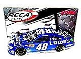 'AUTOGRAPHED 2013 Jimmie Johnson #48 Lowe''s Racing BLUE EDITION Lionel SIGNED 1/24 RCCA Elite NASCAR Gen 6 Diecast Car w/ COA (#216 of 300!) '