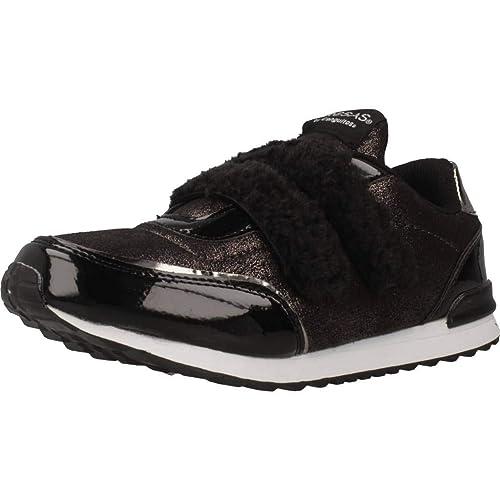 Zapatillas para niña, Color Negro, Marca CONGUITOS, Modelo Zapatillas para Niña CONGUITOS II551123 Negro: Amazon.es: Zapatos y complementos
