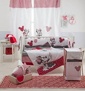 Bebe Bedding Design Disney Red Minnie Mouse 4 Piece Parure De Lit