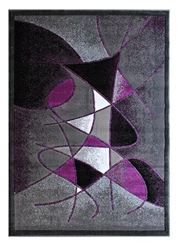 Modern Area Rug Design Gallery 24 (8 Feet X 10 Feet), Purple