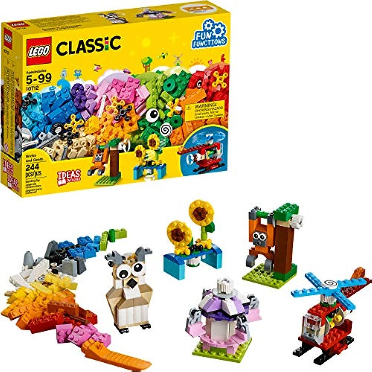 [해외] LEGO클래식 벽큐빅스톤과 톱니바퀴10712건물 키트( 244 PIECE )