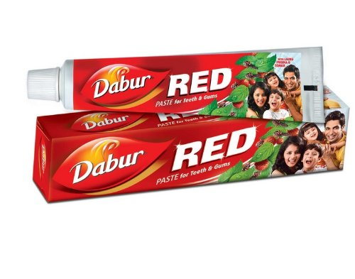 Dabur Red Tooth Paste 50Gm Gum Disorders, Toothache Ayurvedic Natural Clove Mint