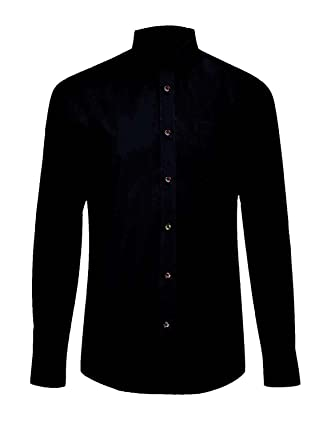 Mens Classic Long Sleeve Easy Care Formal Shirts Size 14.5 to 19.5 ...